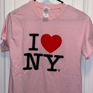 I heart New York I love ny NY T-shirt small